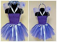 ПРОКАТ Карнавальныый костюм бабочка, фея цветов для девочки 3-5 лет