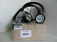 Комплект ремня генератора 1.6 с кондиционером Renault, 117206746R