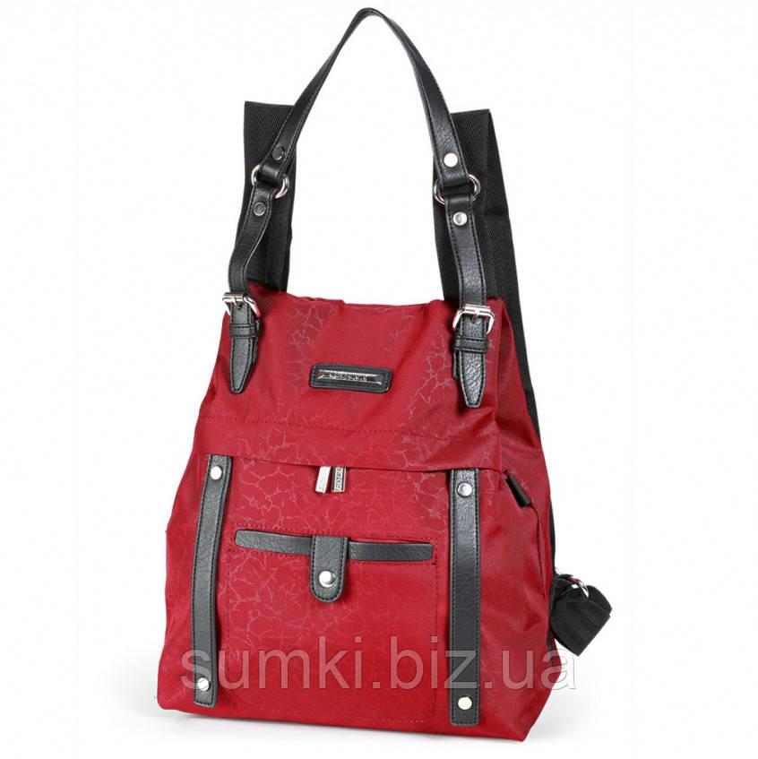 0cb25cf9ec86 Модная сумка - рюкзак 2018, красная купить недорого: качественные ...