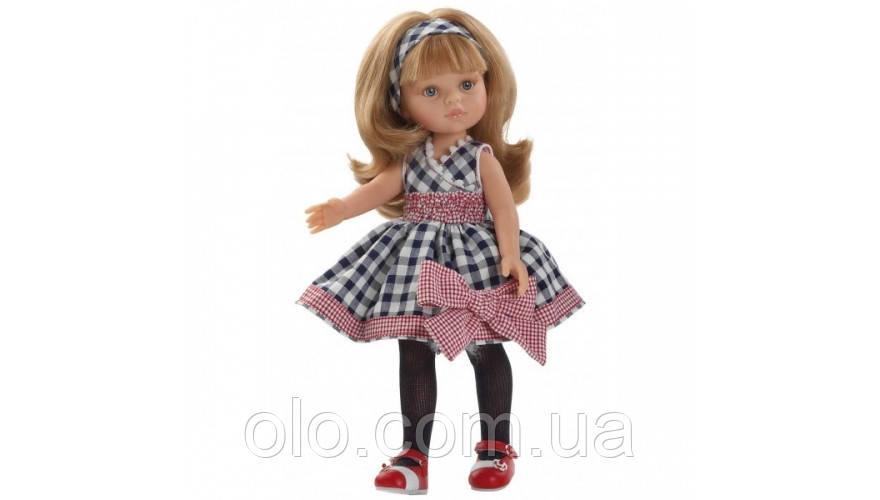 Куклы в платье в клеточку