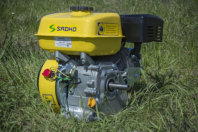 Двигатель на мотопомпе Sadko