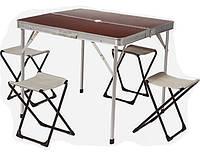 Стол складной + 4 стула в комплекте TO-8833-A