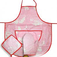 Кухонный набор, фартук. передник Дана 3 предмета