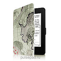 Amazon Кожаная обложка для Amazon Kindle Paperwhite Ultra Slim Karta Green