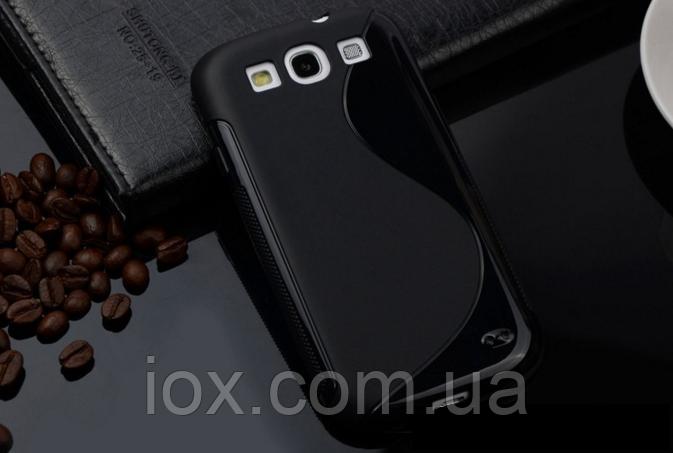 Силиконовый черный чехол Samsung Samsung Galaxy S3/S3 duos