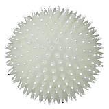 Игрушка для собак Trixie Мяч фосфоресцентный, игольчатый с пищалкой, винил 10 см ( цвета в ассортименте), фото 2