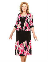 Женский  костюм  Жасмин   больших размеров 50, 52, 54, 56, 58, 60