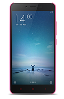 Чехол бампер для смартфонов Redmii Note 2 Pink ORIGINAL 1153000021