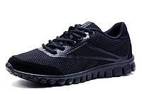 Кроссовки мужские Reebok Realflex Transition 3.0, черные, текстиль, фото 1