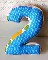 Декоративная подушка-цыфра (50см)