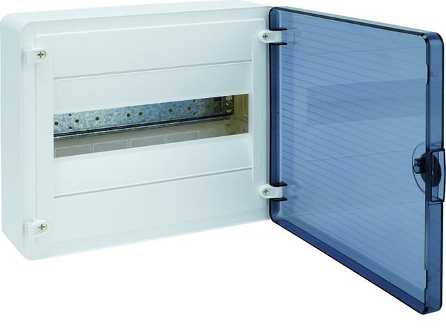 Щит  н/у с прозрачной дверцей, 12 мод. (1х12), GOLF