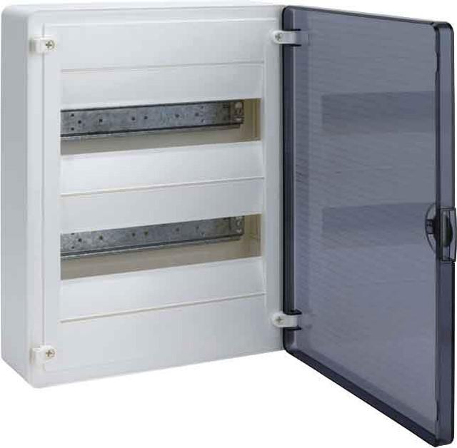 Щит  н/у с прозрачной дверцей, 24 мод. (2х12), GOLF