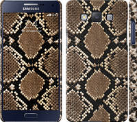 "Чехол на Samsung Galaxy A5 A500H Кожа змеи ""901c-73"""
