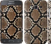 "Чехол на Samsung Galaxy Core Prime G360H Кожа змеи ""901c-76"""