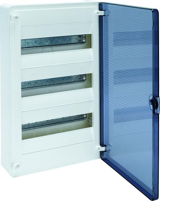 Щит  н/у с прозрачной дверцей, 36 мод. (3х12), GOLF