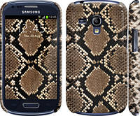 "Чехол на Samsung Galaxy S3 mini Кожа змеи ""901c-31"""