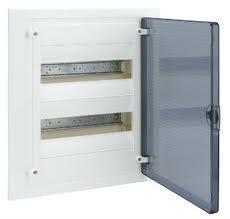 Щит  в/у с прозрачной дверцей, 24 мод. (2х12), GOLF