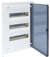 Щит  в/у с прозрачной дверцей, 36 мод. (3х12), GOLF