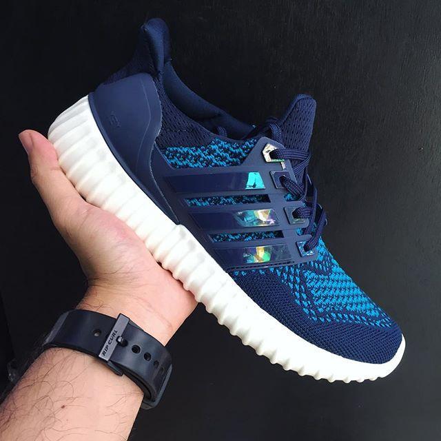 Кроссовки Adidas Yeezy Ultra Boost 350 синие Оригинал