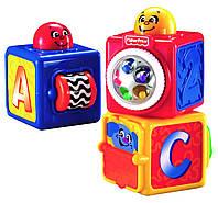 Активные кубики, Fisher-Price