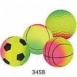 Игрушка для собак Trixie Мяч вспененная резина (цвета в ассортименте), фото 3