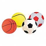Игрушка для собак Trixie Мяч вспененная резина (цвета в ассортименте), фото 2