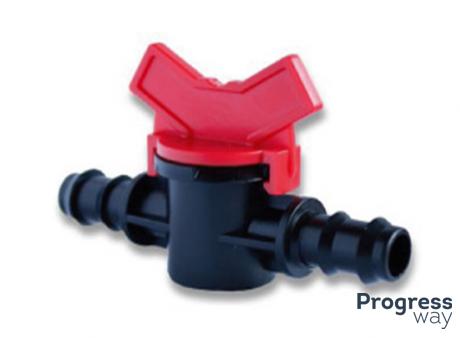 Кран Проходной Для Drip Line Трубы Кс 16*16 (Sl-011-4)