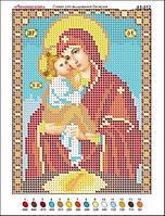 Почаевская богоматерь. Икона для вышивки бисером.