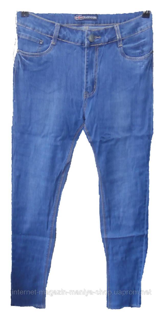Женские джинсы полу батал