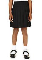 Черная школьная юбка F&F, 7 лет