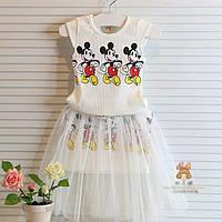 Детский костюм на лето для девочки Mike Mause