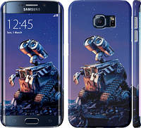 "Чехол на Samsung Galaxy S6 Edge G925F Wall-e ""3015c-83"""