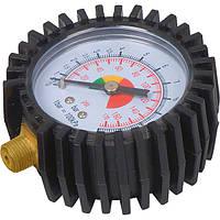Манометр для пневмопистолета для накачивания колес, 60мм, MIOL 81-521