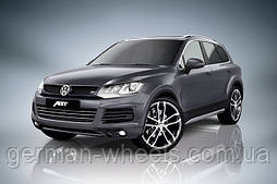 "Диски 20"" ABT Sportsline CR для Volkswagen Touareg летняя резина CONTINENTAL"