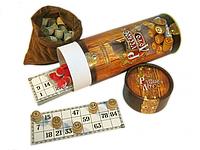 "Лото ""Русское лото"" в тубусе. Бочонки из ценного дерева., фото 1"