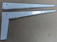 Консоль откидная Tempo 450 мм. белая, для раскладного стола.