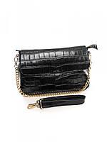 Женская кожаная сумка 30*21 см., фото 1