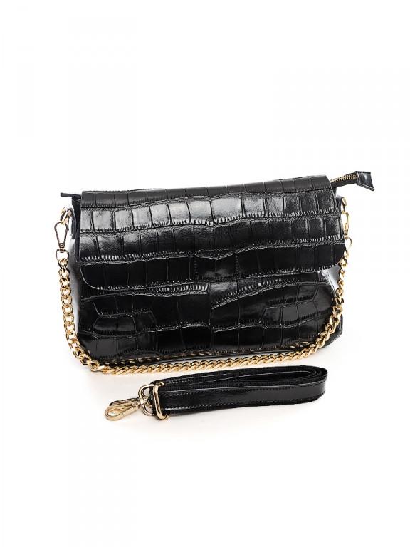 Женская кожаная сумка 30*21 см.