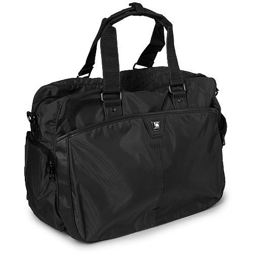 Cумка спортивная дорожная текстильная черная OIWAS 2903