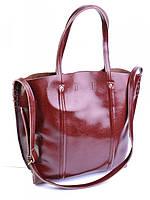 Женская кожаная сумка 44*34.