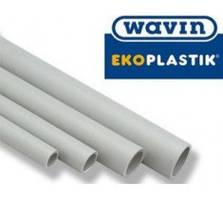 Труба ekoplastik wavin ду20 pn16 для холодной воды