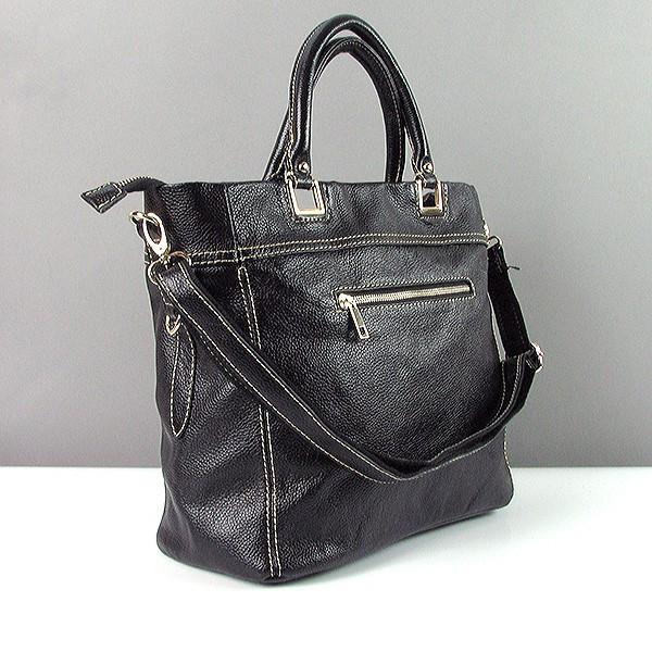 9a7e9a14fbe4 Кожаная черная сумка 1041 женская матовая деловая прямоугольной формы, цена  1 866 грн., купить в Днепре — Prom.ua (ID#251086253)