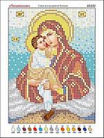 Богородица Почаевская. Икона для вышивки бисером.