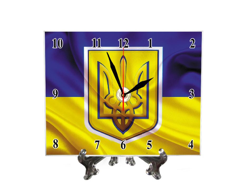 "Часы настольные ""Символы Украины"""