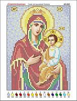 Богородица Скоропослушница. Икона для вышивки бисером. 40bd3a7aecd8b
