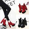 Женские ботинки каблук