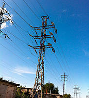 Опора линии электропередач модель 30