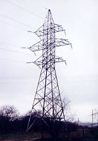 Опора линии электропередач модель 32