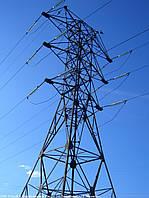 Опора линии электропередач модель 36