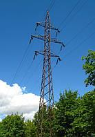 Опора линии электропередач модель 44